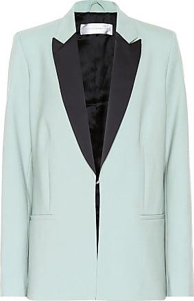 Victoria Beckham Linen-blend blazer
