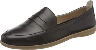 Jana Womens 8-8-24600-24 Loafer, Black Nappa 022, 8 UK