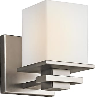 Kichler Tully Cube 6.5 Wall Sconce in Antique Pewter