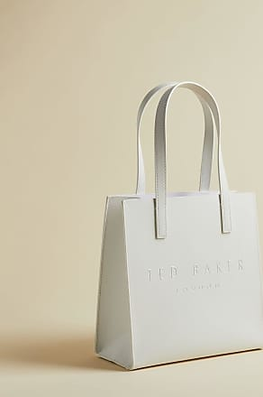 Ted Baker Perforated Small Icon Bag in Ivory FLOOCON, Womens Accessories