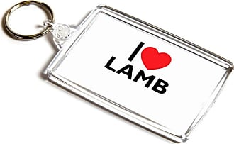 ILoveGifts KEYRING - I Love Lamb - Novelty Food & Drink Gift
