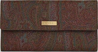 Etro Paisley Wallet, Woman, Multicolor