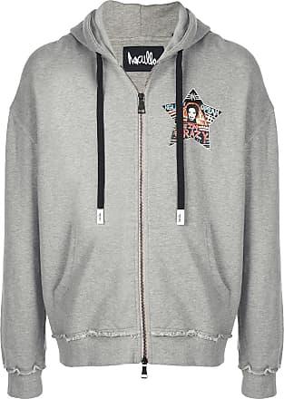 Haculla Help Me zipped hoodie - Grey