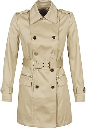 Guess Christina Trench Coats Women Beige - XS - Trench Coats Outerwear