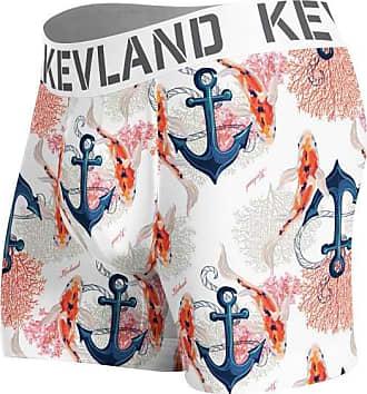 Kevland Underwear cueca boxer kevland anchor branco (1, GG)