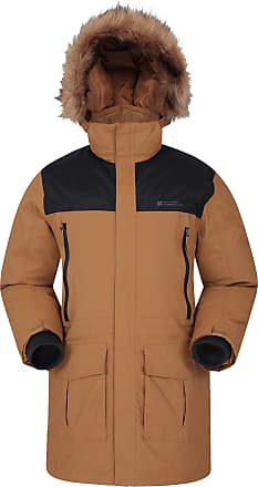 Mountain Warehouse Antarctic Extreme Down Mens Jacket - Adjustable Waist, Waterproof Rain Coat, Quick Drying & Breathable Winter Coat - Ideal for Travelling, Outdoors Ta