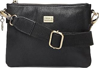 Pipol's Bazaar Sweet Pipol´S Mini Cross Leather Bag Bags Small Shoulder Bags - Crossbody Bags Svart PIPOLS BAZAAR