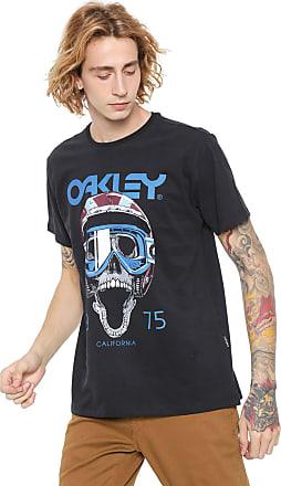 Oakley Camiseta Oakley Mod Poisonous Tee Preta