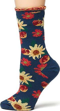 Ozone Womens Petunia Pomme Soleil Socks,Navy, One Size