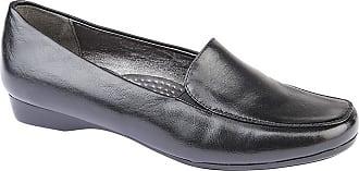 Boulevard Womens/Ladies Casual PU Twin Gusset Shoe (5 UK) (Black)