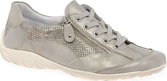 Remonte Squiggle Womens Casual Trainers 7.5 UK Light Grey