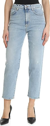 7 For All Mankind Malia light-blue jeans