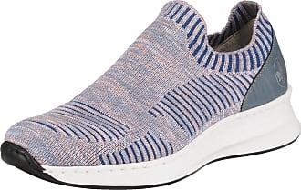 M6052 14 Ladies Blue Slip on shoes