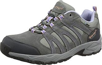 Hi-Tec Womens Alto II Waterproof Low Rise Hiking Shoes - Grey (Steel/Charcoal/Lustre 052), 4 UK (37 EU)