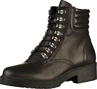 Bullboxer 387504E6L_BLCKTD80 Womens Black Leather Booties, 36 EU
