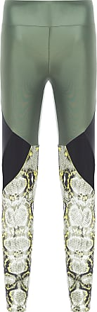 Body for Sure Calça Legging Recortes - Verde