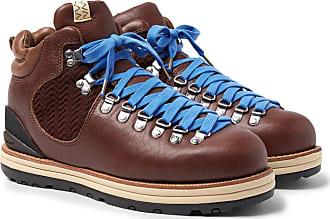 Visvim Serra Shell Cordovan Leather Boots - Dark brown