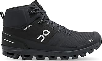 On Mens Cloudrock Waterproof Hiking Boot - All Black 10.5, All Black