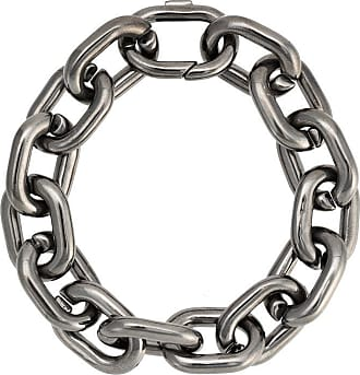 Jack Vartanian Pulseira Chain P prata com ródio negro - Prateado