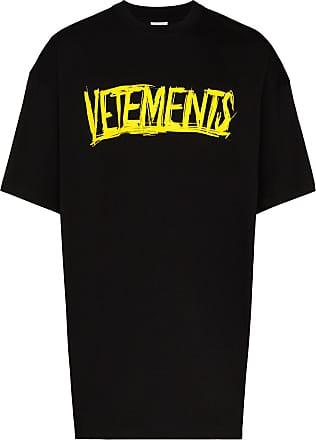 VETEMENTS Camiseta com logo X Big Skull Motorhead - Preto
