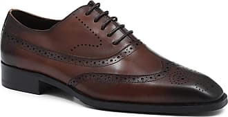 Jones Bootmaker Leather Wing-Tipped Brogues Brown