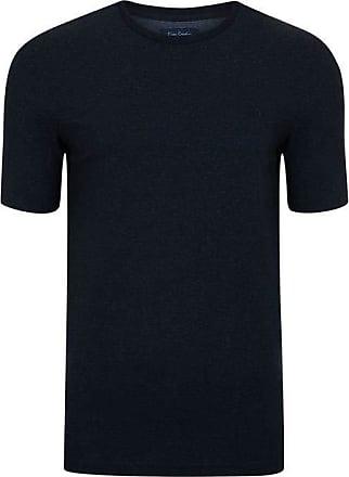 Pierre Cardin Camiseta Moline Mescla Preto G