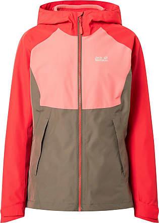 Jack Wolfskin Veste de sport Mount Isa 3IN1 rouge / rose / gris