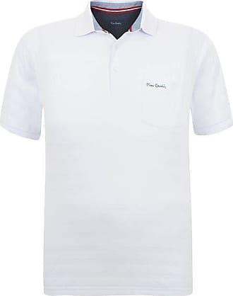 Pierre Cardin Polo Plus Size com bolso Listras Branca São Paulo 6