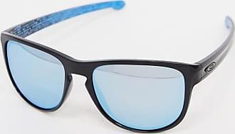 Oakley Gafas de sol con montura cuadrada de Oakley-Negro