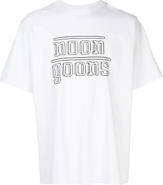 Noon Goons Camiseta The Chrome com estampa de logo - Branco
