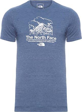 The North Face T-SHIRT MASCULINA VALLEY VISTA TRIBLEND - AZUL
