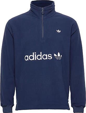 Adidas Originals Half Zip Polarfleece Navy.