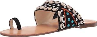 Jessica Simpson Womens Abira Flat Sandal, Black, 5.5 UK