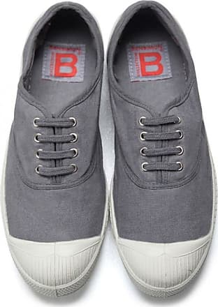 Bensimon MEN LACE TENNIS SHOES GREY