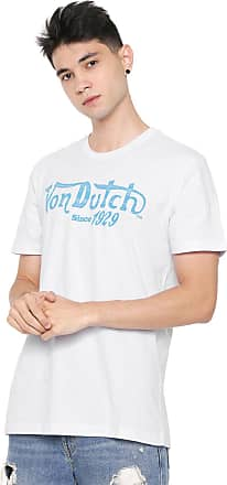 Von Dutch Camiseta Von Dutch Riders Since Branca