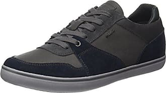 Geox Mens Box 26 Fashion Sneaker, Navy/Anthracite, 40 EU/7 M US