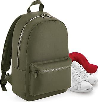 BagBase Bagbase Essential Tonal Backpack/Rucksack Bag (One Size) (Military Green)