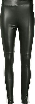 GOEN.J faux leather leggings - Black