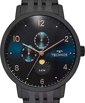 Technos Relógio Masculino Technos Analógico Golf 6P21AA/4P - Preto