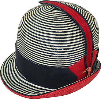 Saint Laurent Mod 1960s Yves Saint Laurent Red White   Blue Straw Hat abe9d8e3b3a