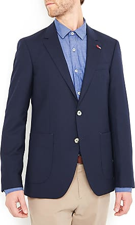Veste décontractée en coton texturé Tommy Hilfiger en bleu