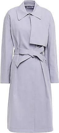 A.L.C. A.l.c. Woman Bridges Twill Trench Coat Lilac Size 10