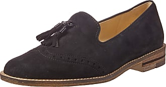 Ara Womens Kayla Loafer, Black Samtchevro, 11.5