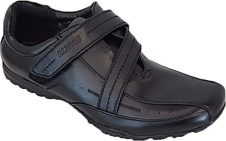 US Brass Mens Shoes Crockett Black UK 9