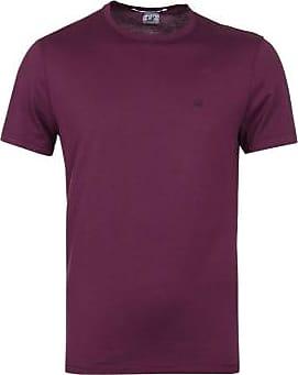 C.P. Company C.P. Company Re-Color Brillenhaube zurück Mako Jersey T-Shirt Gloxinia Lila - purple | large - Purple/Purple