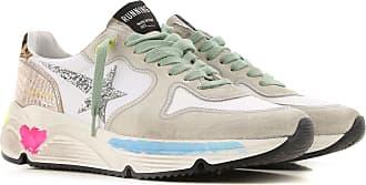 Golden Goose Sneaker für Damen, Tennisschuh, Turnschuh Günstig im Sale, Eisfarben, Leder, 2019, 35 36 37 38 40