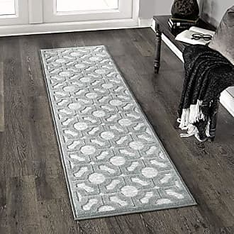 Orian Rugs Boucle Huron Harbor Runner Rug, 111 x 76, Blue