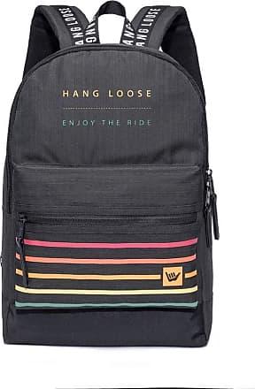 Hang Loose Mochila Hang Loose Kekoa Listras 17 Litros Preto