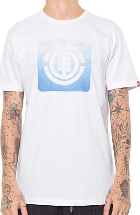 Element Camiseta Element Ripples Branca