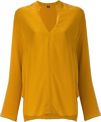Osklen silk blouse - Yellow